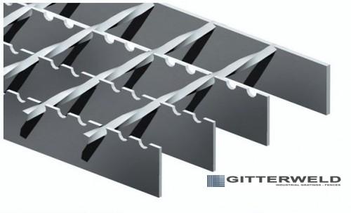 gratar metalic electroforjat tip - SP antiderapant