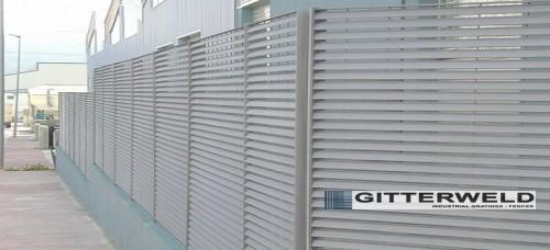 Gard Metalic tip Louver